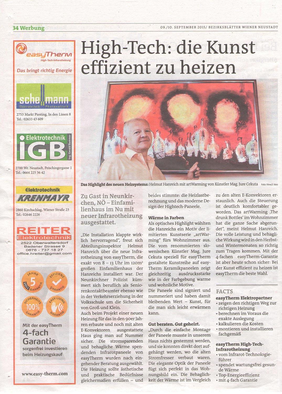 iGB Elektrotechnik-BezirksblattWN-Hanreich