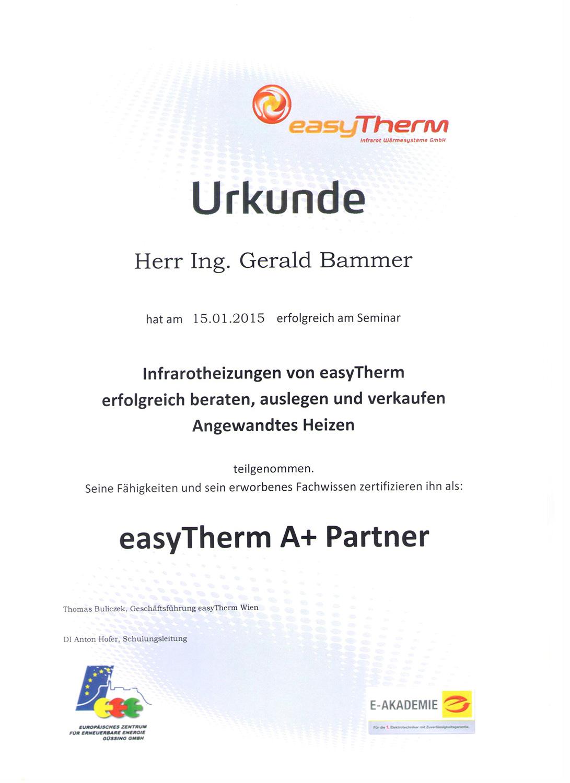 iGB Elektrotechnik-Zertifikat-easyTherm