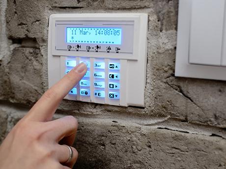 iGBElektrotechnik-Alarmanlage